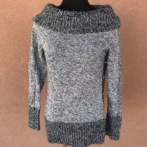 White House/Black Market cowl sweater